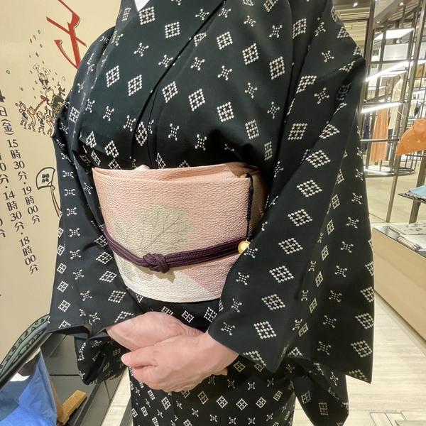 店主の着物写真